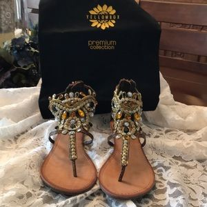 Yellow Box Sandals
